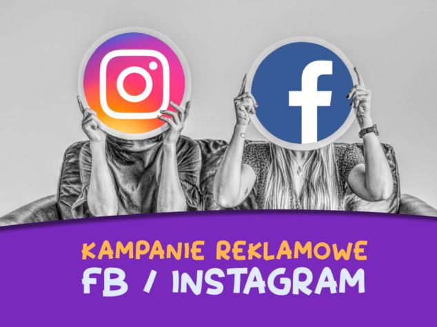 kampanie raklamowe Facebook i Instagram