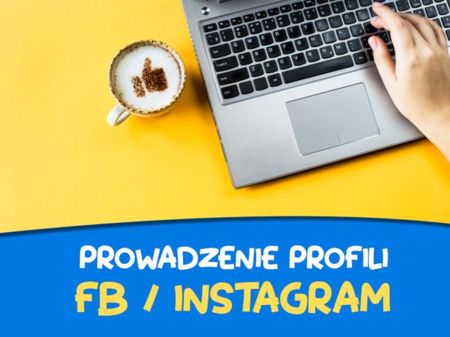 Prowadzenie profili facebook - instagram